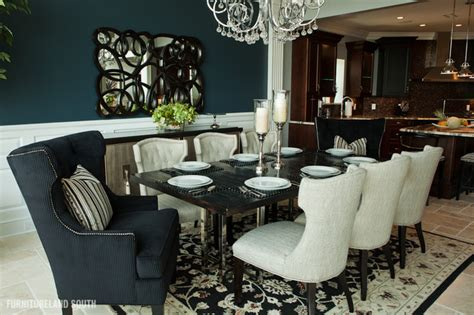 executive penthouse apartment traditional dining room
