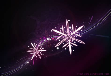 purple snowflake wallpaper wallpapersafari
