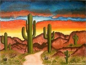 Southwest Art | ... Southwest Scene (Sold) - by Lar ...
