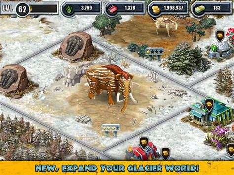 the woolly mammoth and other cool creatures await in jurassic park builder