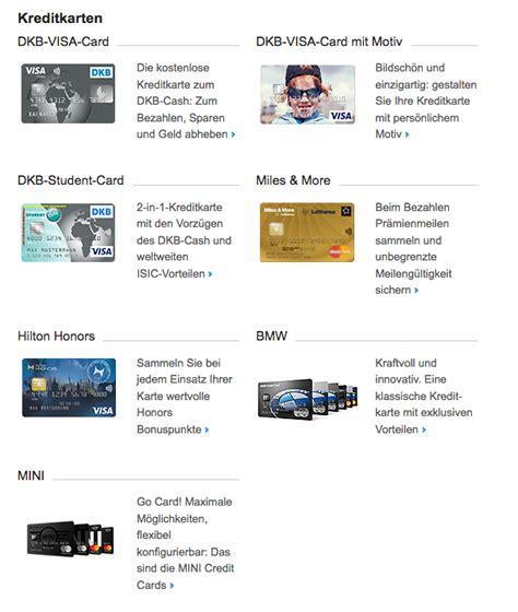 dkb kreditkarten im vergleich infos zum