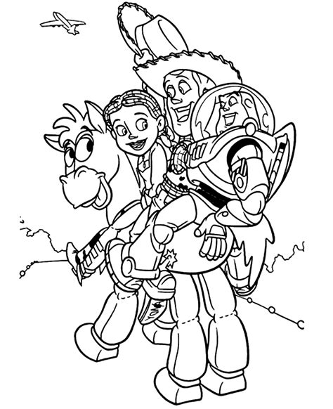 Coloring Toys by Story 4 Coloring Pages Best Coloring Pages For