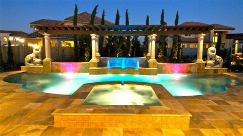 swimming pool house plans signature project lions by custom design pools