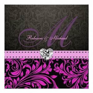 Elegant Purple Wedding Background