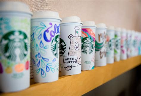 starbucks surprises customers  personalized cups