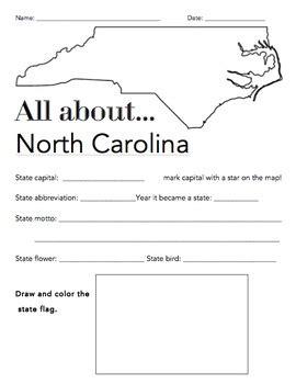All Worksheets » North Carolina Worksheets  Printable Worksheets Guide For Children And Parents