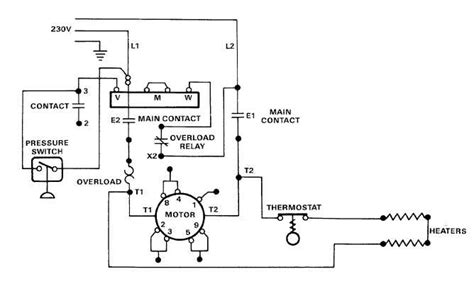 electric motor controls wiring diagrams 115v tm 5 4310