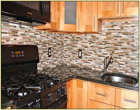 Glass Tile Backsplash Pictures Mosaic by Clear Glass Mosaic Tile Backsplash Home Design Ideas