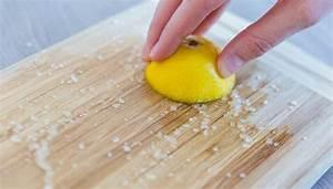 Spülmaschine Ohne Salz : holzbrett schneidebrett k che reinigen sauber machen mit salz und zitrone nat rlich ohne ~ Eleganceandgraceweddings.com Haus und Dekorationen