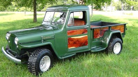 willys jeep truck  sale  technical specifications description