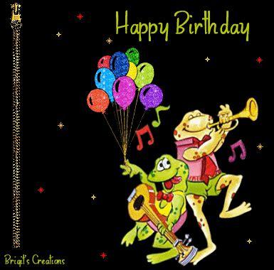 animated happy birthday cartoon quote
