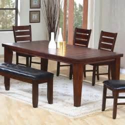 brown dining room set casual dinette sets