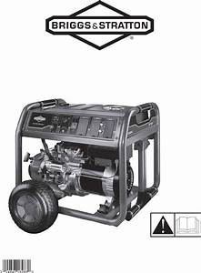 Briggs  U0026 Stratton Portable Generator 30470 User Guide