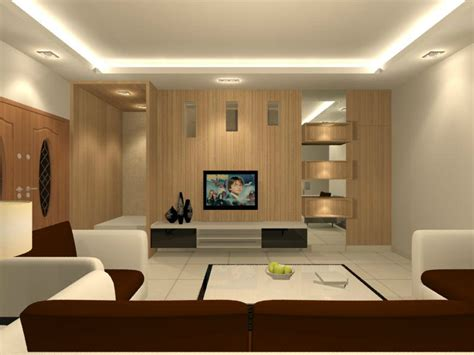 living hall interior design residential living