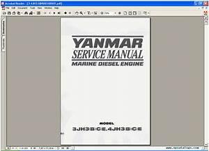 Yanmar Marine Diesel Engine 3jh3 B  C E  4jh3 B  C E  Repair Manual  Heavy Technics   Repair