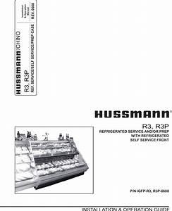 Hussman Reach In Freezer Wiring Diagram