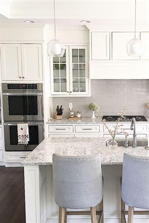 atcarolineondesign white shaker cabinets  soft grey