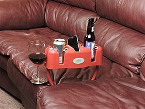 Cupsy sofa and couch armchair drink organizer and recliner for Cupsy sofa and couch beverage organizer