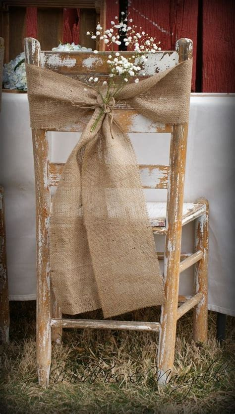 habillage chaise mariage shine on your wedding day with these breath taking rustic