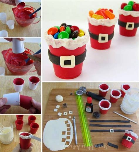 santa candy cups pictures   images  facebook