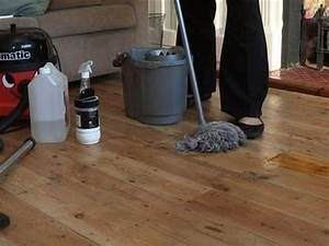 How to clean hardwood flooring youtube for How to disinfect wood floors