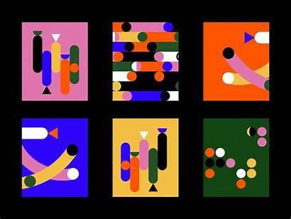 Bloomberg Dribbble Diversity Generating Pattern Campaign Magic