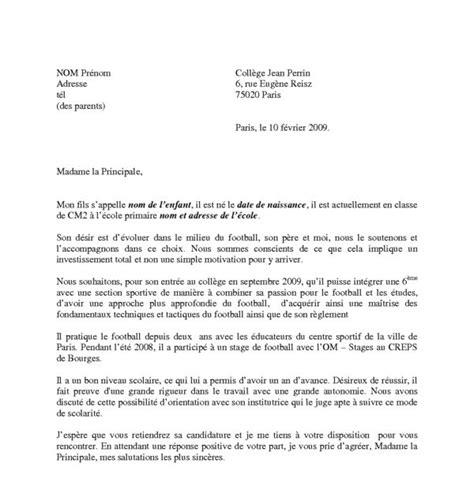 cover letter exle mod 232 le de lettre de motivation word 2010