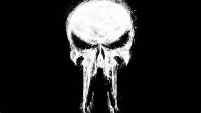 Punisher 4k Wallpapers Paint Marvel Comics Ultra