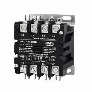 China Customized 4 Pole 40 Amp Hvac Contactor