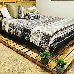100, Diy, Recycled, Pallet, Bed, Frame, Designs, -, Easy, Pallet, Ideas