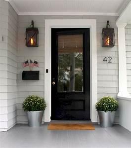 70, Beautiful, Farmhouse, Front, Door, Design, Ideas, And, Decor, 36