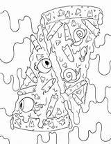 Coloring Creepy Cuties sketch template