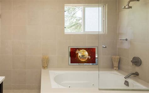 Waterproof Mirror Tv Bathroom by 32 Waterproof Bathroom Mirror Led Smart Tv In Uk