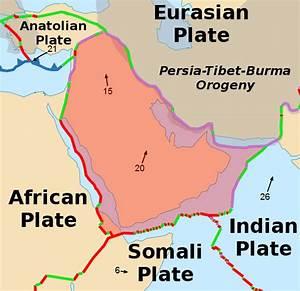 Diagram Of Arabian Plate