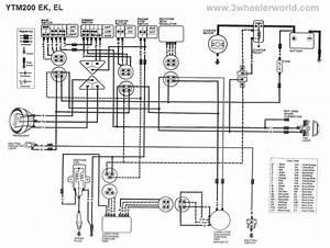 1985 Yamaha Tt600 Wiring Diagram