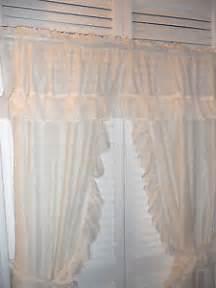 j c penney priscillas curtains 1 piece with tiebacks