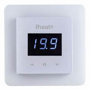 Radiateur Electrique Avec Thermostat : heatit thermostat z wave pour radiateurs et chauffage ~ Edinachiropracticcenter.com Idées de Décoration