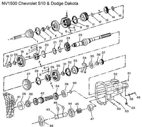 Diagram Drawing Chevrolet Transmission