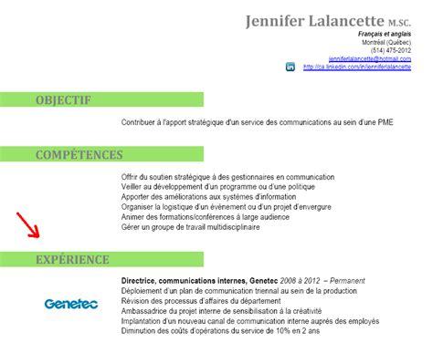 Télécharger Cv Gratuit Franàçais by Exemple Cv Anglais References Sle Resume