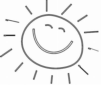 Sun Coloring Pages Clipart Coloring4free Sunshine Break