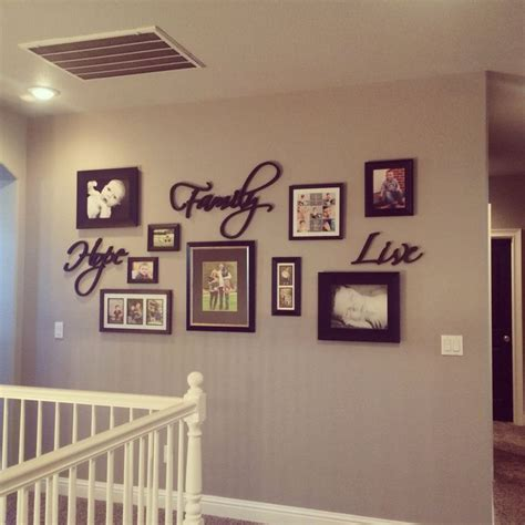 Living Room Decorating Ideas Picture Frames by Gallery Wall Greige Walls Black Doors Home Decor