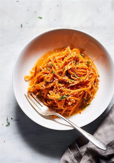 Garlic Butter Sweet Potato Noodles Recipe - Best Sweet ...