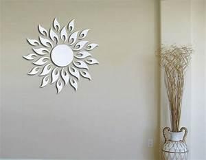 Spiegel An Der Wand Befestigen : moderne spiegel 37 kreative designs ~ Markanthonyermac.com Haus und Dekorationen
