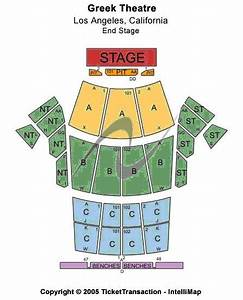 Greek Theater Los Angeles Seating Chart Greek Theater Seating Chart Check The Seating Chart Here
