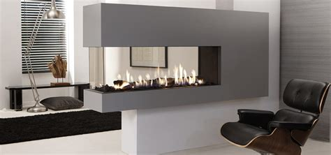 lucius  room divider  element penninsula fireplace