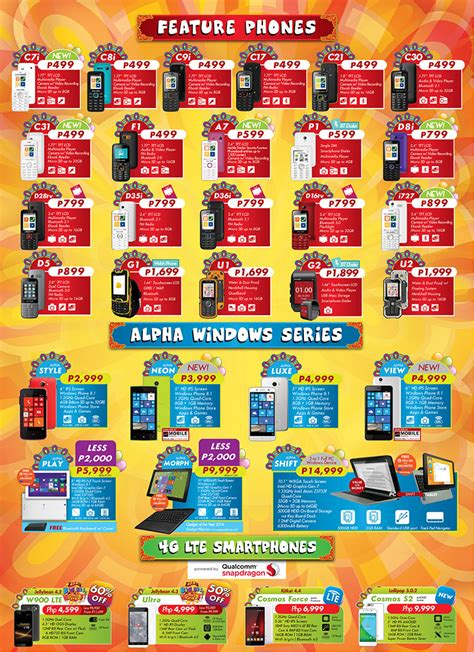 price of cherry mobile 2015 price list revealed noypigeeks