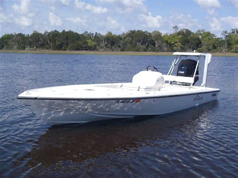 Intrepid Boats For Sale by Intrepid 201 Flats Skiff With 250hp Yamaha Sho The Hull