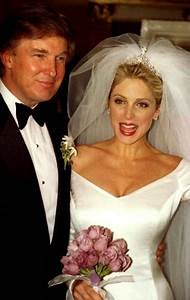 Donald Trump and Marla Maples were married 1993-1999. They ...