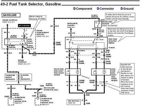 95 F150 Fuel Tank Diagram by 1995 5 8l F150 Fuel And Or Dual Tank Question Ford