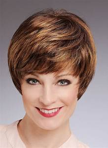 Brown Hair Color Chart Light Brown Boy Cut Women Short Straight Synthetic Hair Wigs